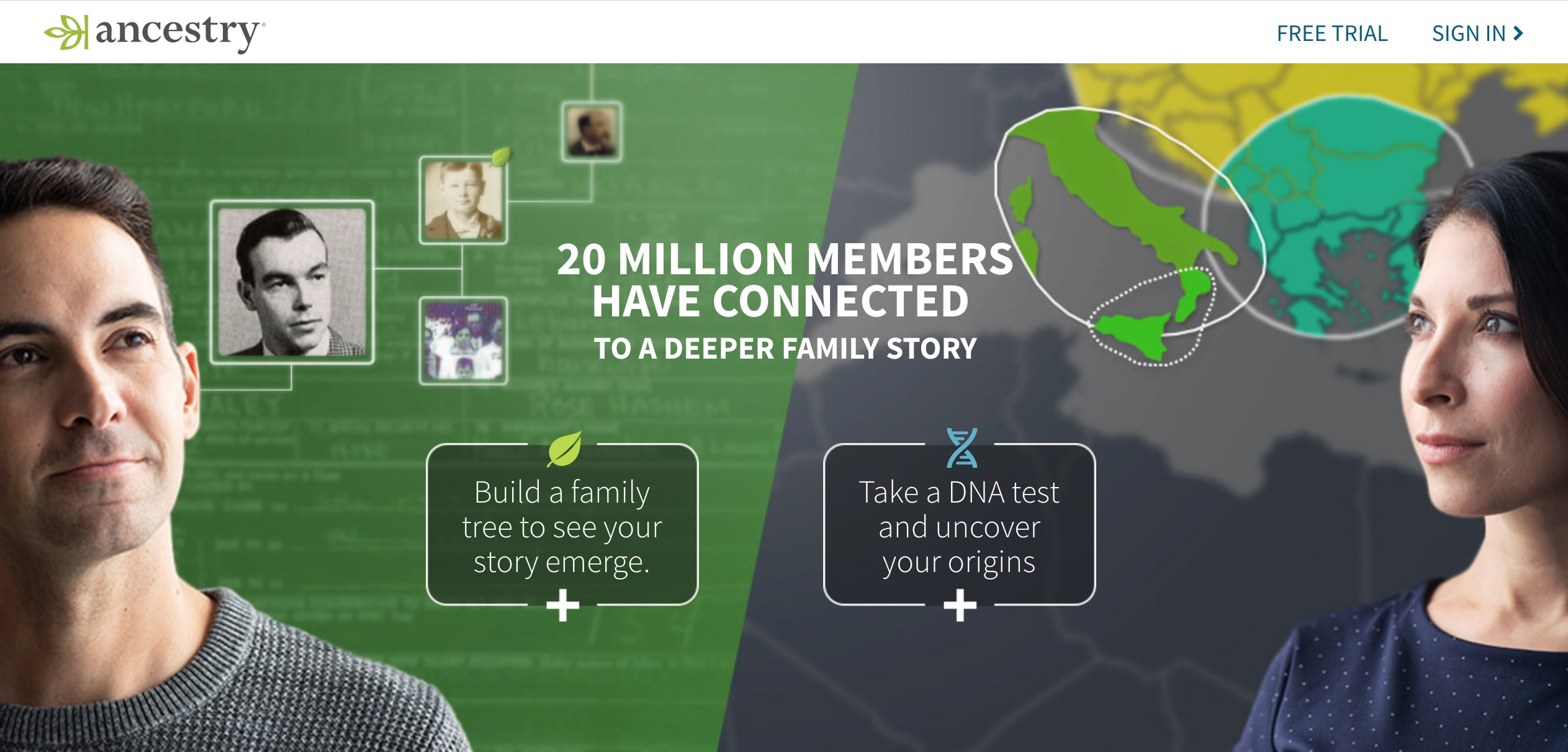 ancestry website