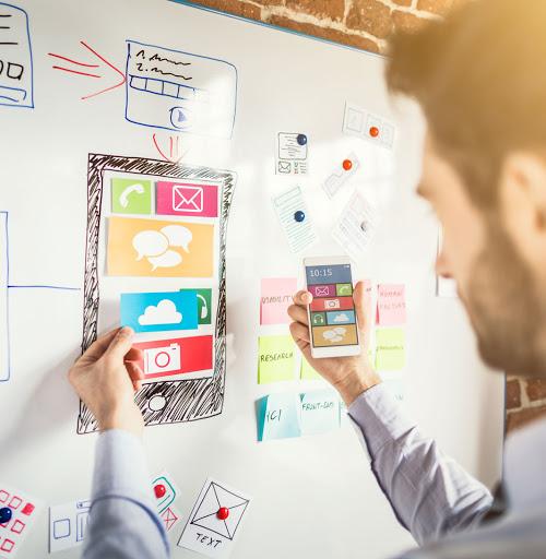 UI & UX of Mobile App