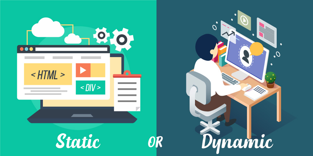 static vs dynamic website difference