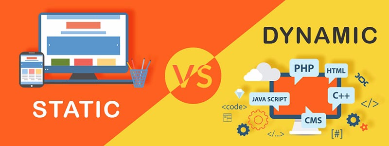 HOW DO STATIC WEBSITES DIFFER FROM DYNAMIC WEBSITES?