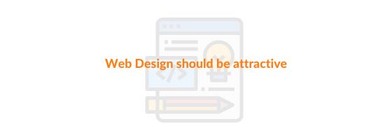 attractive web design